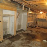 Basement waterproofing by Iowa Home Restoration & Repair