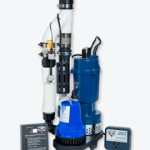 Sump pump for basement waterproofing in Urbandale, Iowa
