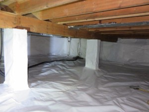 crawl space des moines